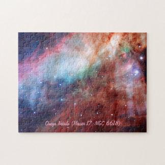 Omega Nebula (Messier 17 or NGC 6618) Jigsaw Puzzle