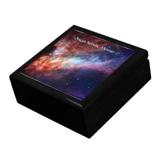 Omega Nebula, Messier 17 - Trinkets and Treasures Gift Box