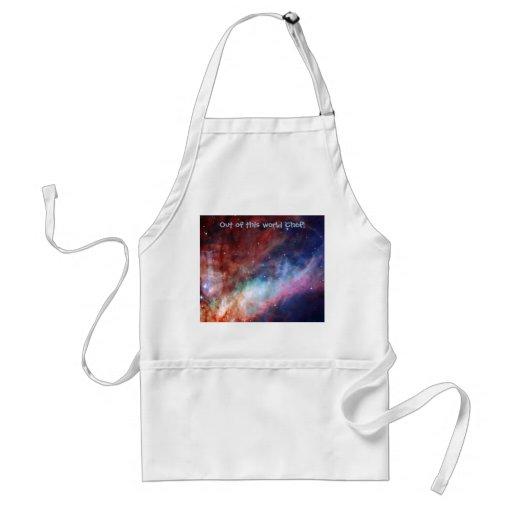 Omega Nebula - Our Amazing Universe Apron