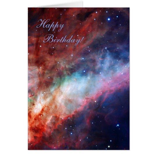 Omega Nebula - Our Amazing Universe Card