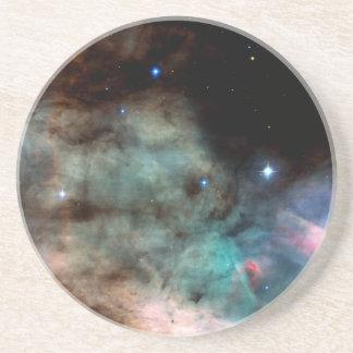 Omega Nebula Sandstone Coaster