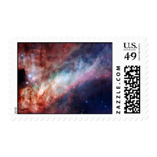 Omega Nebula Space Astronomy Nature Stamps