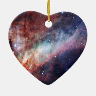 Omega Nebula Space Astronomy Ornament