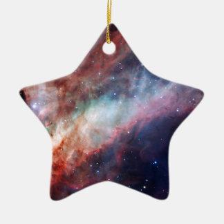Omega Nebula Space Astronomy Christmas Ornaments