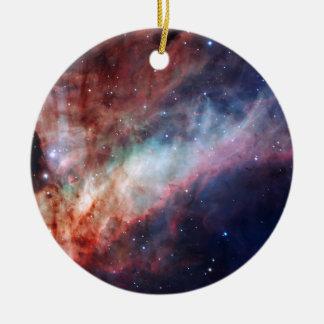 Omega Nebula Space Astronomy Christmas Ornament