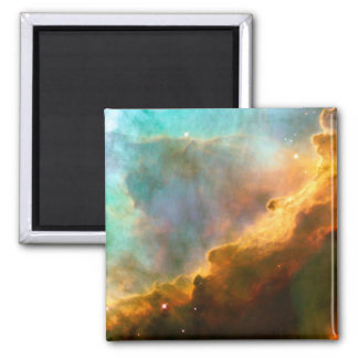 Omega Nebula Stellar Nursery 2 Inch Square Magnet