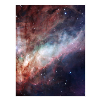 Omega or Swan Nebula M17 Postcard