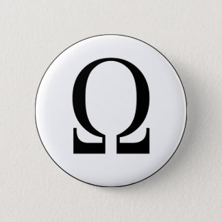 Omega Pinback Button