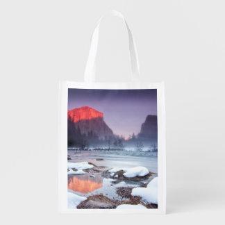 Omega Red Grocery Bag