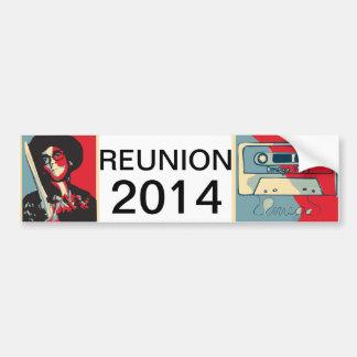 Omega Reunion Bumper Sticker