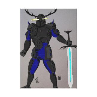 Omega Runesbane Knight canvas