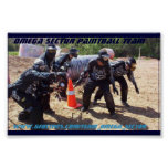 Omega Sector Paintball Team Poster