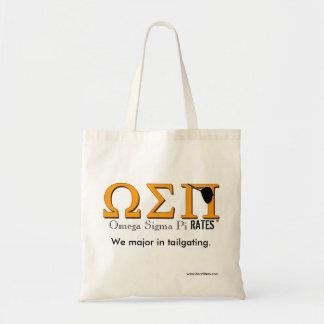 Omega Sigma Pi(rates) Tote Bag