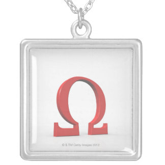 Omega Silver Plated Necklace