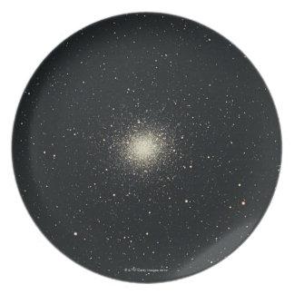 Omega Star Cluster Plate