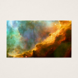 Omega / Swan Nebula Hubble Space Business Card