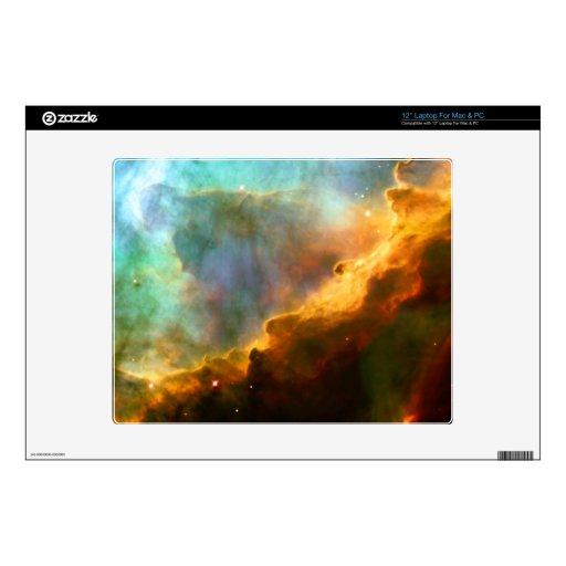 Omega Swan Nebula Hubble Space Laptop Skin