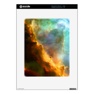 Omega Swan Nebula Hubble Space Decals For iPad