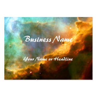 Omega / Swan Nebula (Hubble Telescope) Large Business Cards (Pack Of 100)