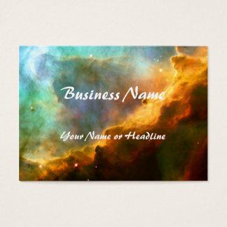 Omega / Swan Nebula (Hubble Telescope) Business Card