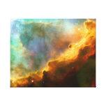 Omega / Swan Nebula (Hubble Telescope) Gallery Wrap Canvas