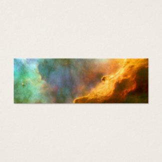 Omega / Swan Nebula (Hubble Telescope) Mini Business Card