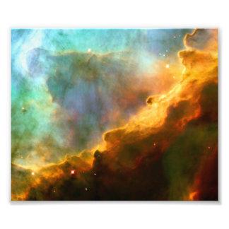 Omega / Swan Nebula (Hubble Telescope) Photographic Print
