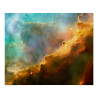 Omega Swan Nebula, M17 Posters