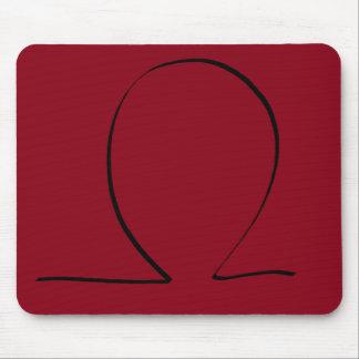 Omega Symbol CricketDiane Designer Stuff Mousepad