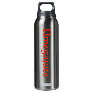Omegajute 16 Oz Insulated SIGG Thermos Water Bottle