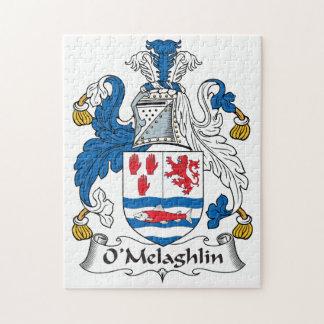O'Melaghlin Family Crest Jigsaw Puzzles