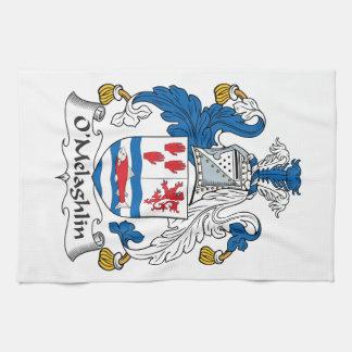 O'Melaghlin Family Crest Towel