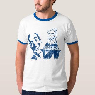 Omen Served-up Powder (vintage blue front) T-Shirt