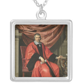 Omer Talon, 1649 Silver Plated Necklace