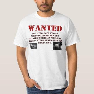 O'Merkley's Most Wanted T-Shirt