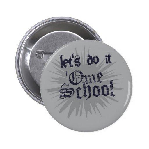 OmeSchool Pin Redondo 5 Cm