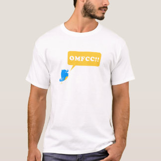 OMFCC!! shirt white design