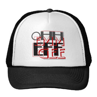OMFG Ohh Emm Eff Gee Trucker Hat