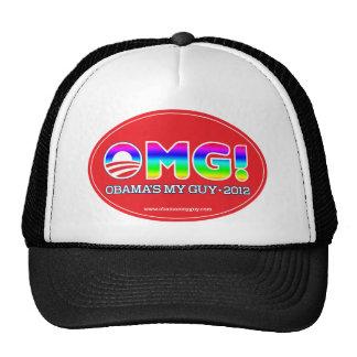 OMG 2012--El mi individuo 2012 de Obama Gorras De Camionero