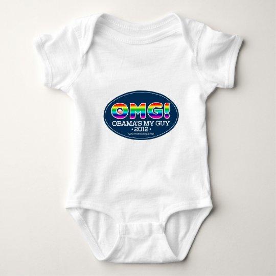OMG 2012--Obama's My Guy 2012 Baby Bodysuit