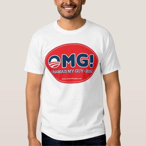 OMG 2012--Obama's My Guy 2012 T-shirt