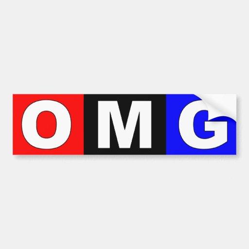 OMG - Anti NPR Bumper Sticker