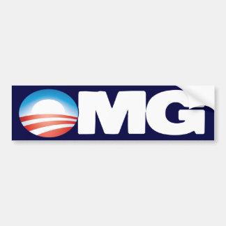 OMG Anti Obama Bumper Sticker
