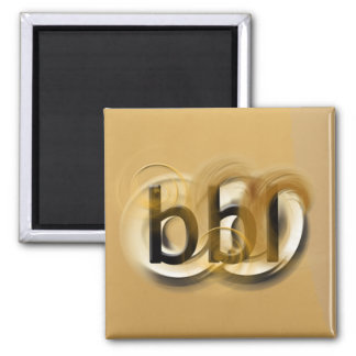 OMG! bbl 2 Inch Square Magnet