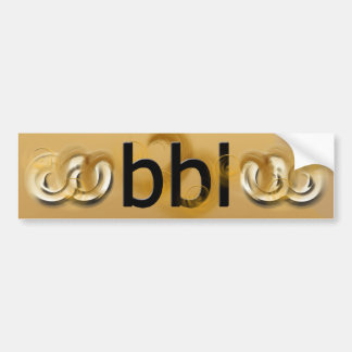 OMG! bbl Bumper Sticker