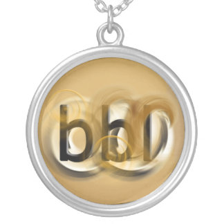 OMG! bbl Round Pendant Necklace