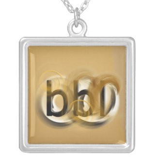 OMG! bbl Silver Plated Necklace