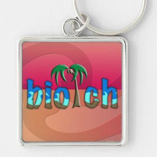 OMG! biotch Keychain