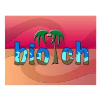 OMG! biotch Postcard