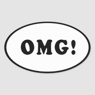 OMG! Bumper Sticker
